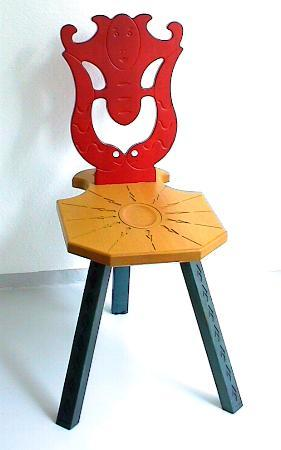 Museum Chair Sedile Del Museo Galerie Maurer